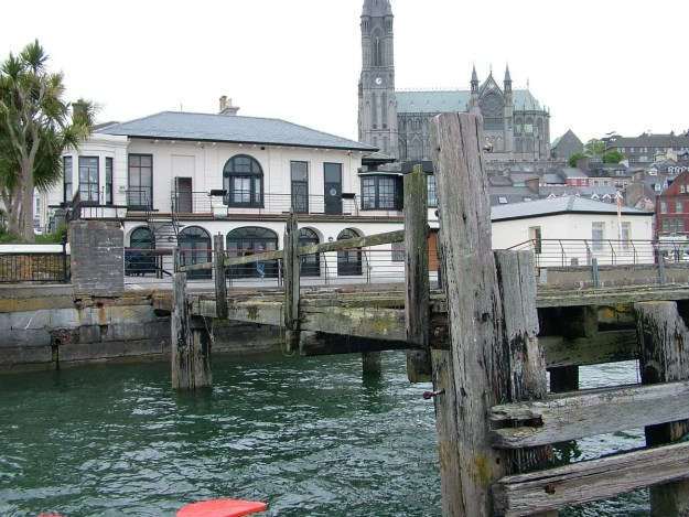 White Star Line's titanic departure dock, titanic experience, cobh town, county cork, ireland