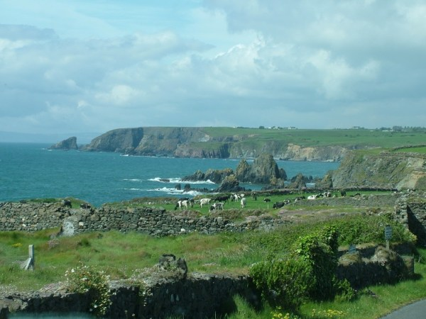 atlantic coastline, county cork, ireland