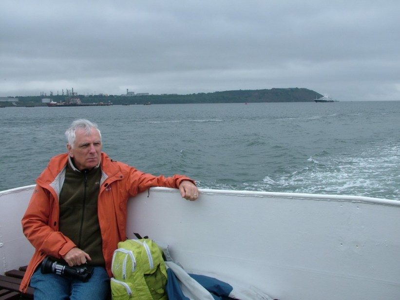 bob reflects near titanic's last anchorage spot off cobh, ireland