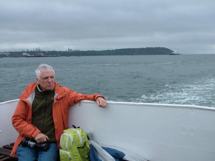 bob reflects near titanic's last anchorage spot off cobh, ireland