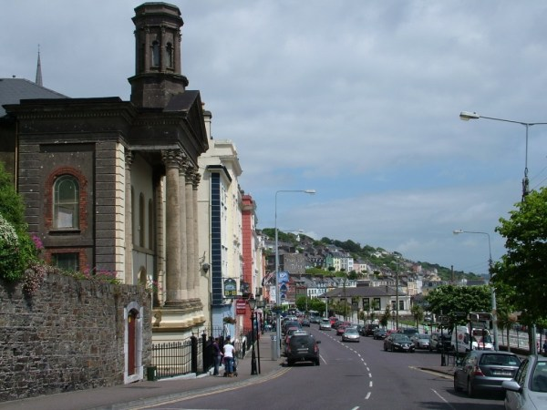 cobh, sea port, cork harbour, ireland