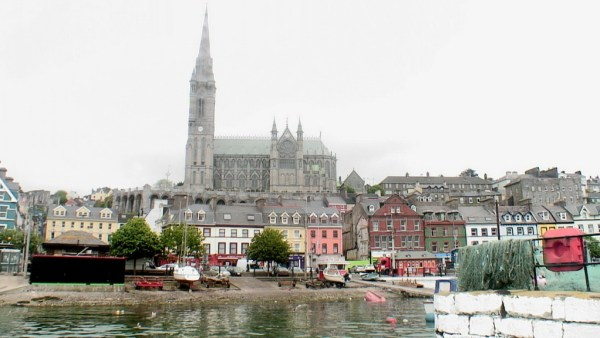 cobh town, view from water, titanic experience, county cork, ireland
