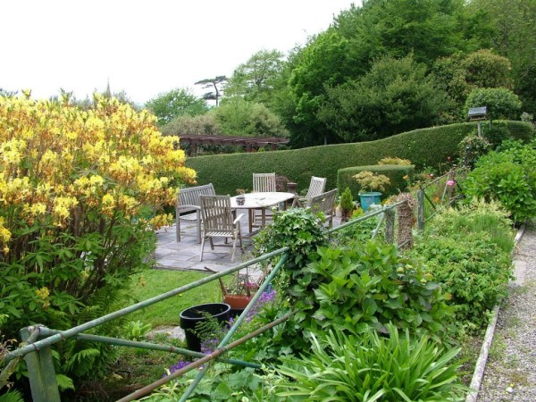 garden at Amberleigh House , Cobh, County Cork, Ireland