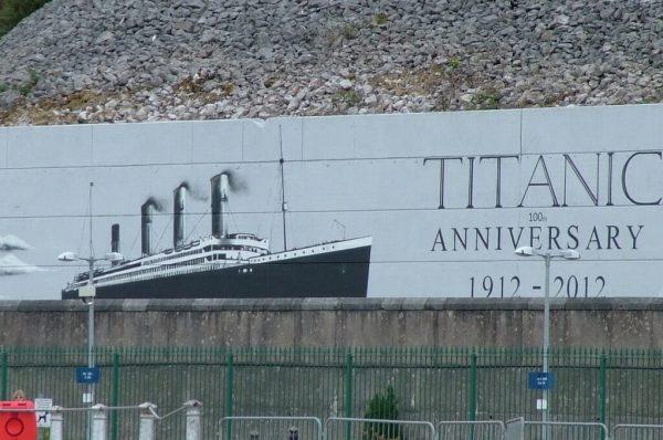titanic billboard, Cobh, County Cork, Ireland