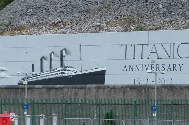 titanic billboard, Cobh, County Cork, Ireland