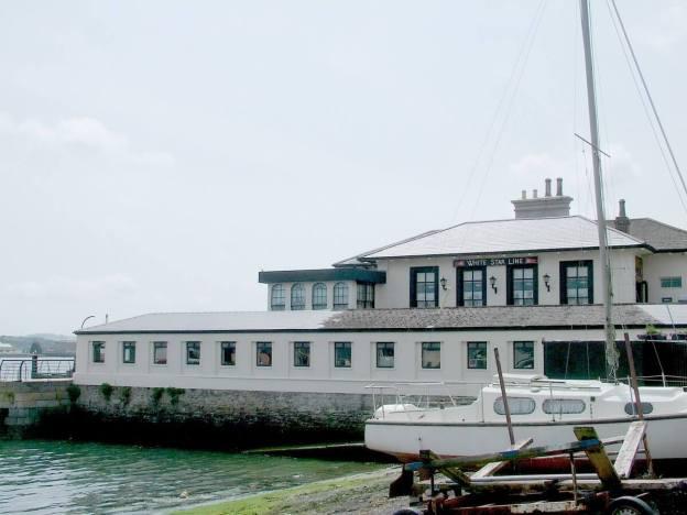 white star line building, titanic, cobh, ireland