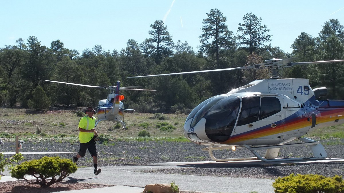 Our Helicopter Flight Over The Grand Canyon