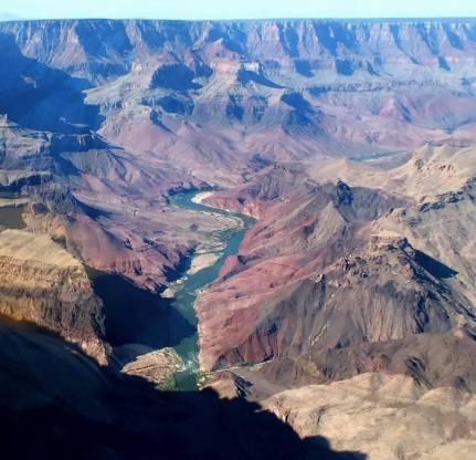 Colorado River at the Grand Canyon in Arizona