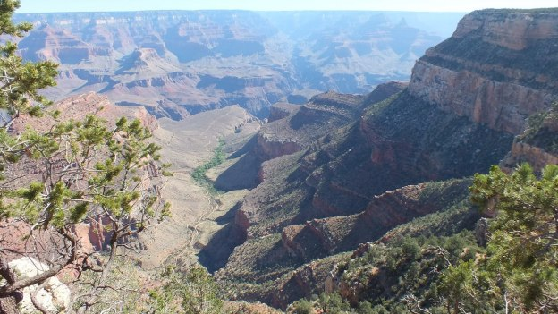 Bright Angel Trail at Grand Canyon National Park, Arizona, U.S.A.