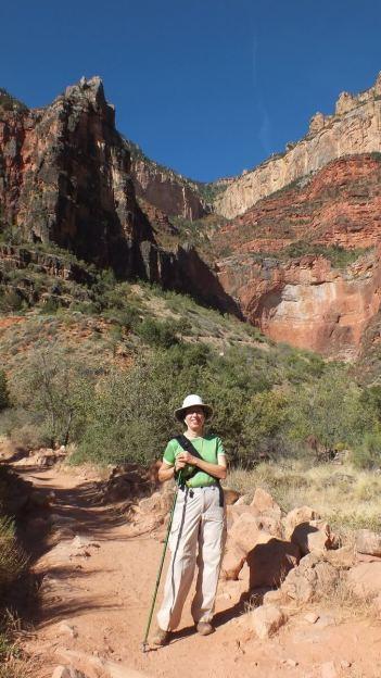 bright angel trail hike - grand canyon