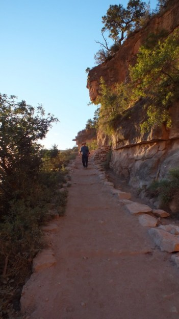 steps on bright angel trail 6a