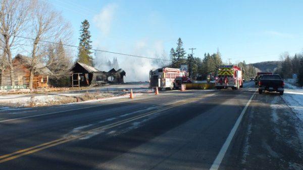 timber trail fire, oxtongue lake 13