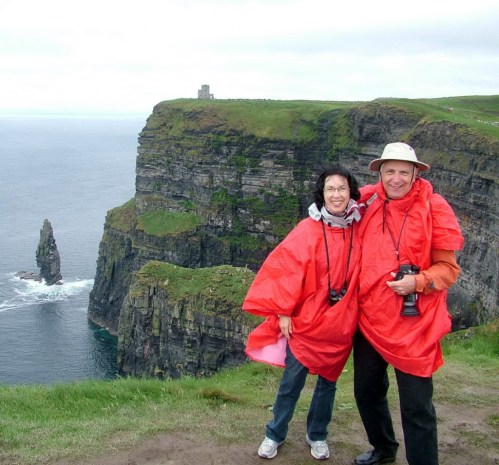 bob and jean cliffs of moher