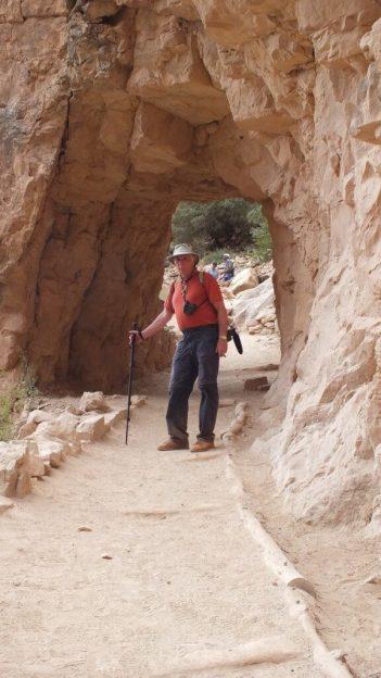 bob back at top bright angel trail 36
