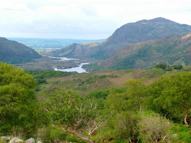 ladie's view, ring of kerry, ireland