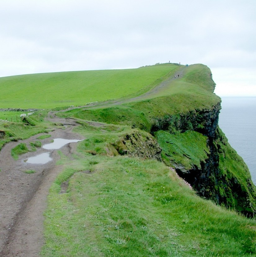 Hag's Head at the Cliffs of Moher in County Clare, Ireland