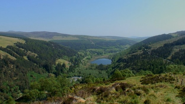 wicklow mountains - glendalough valley