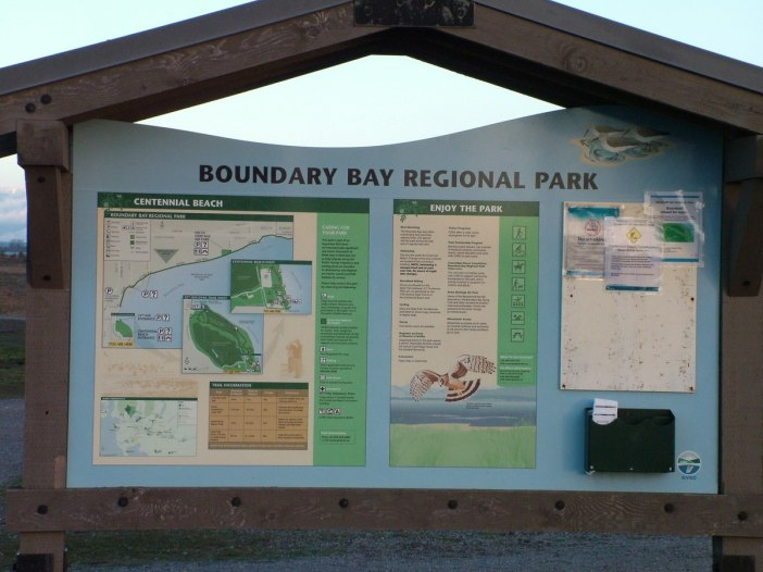 boundary bay sign