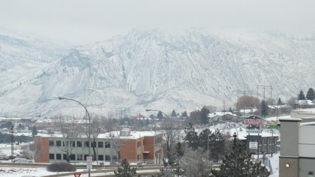 kamloops in winter - british columbia