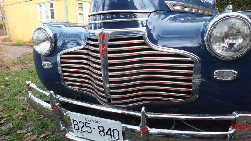 1941 Chevrolet special deluxe Business Coupe - front end