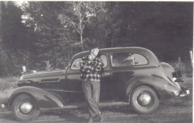 Marv adores his 1937 Chev