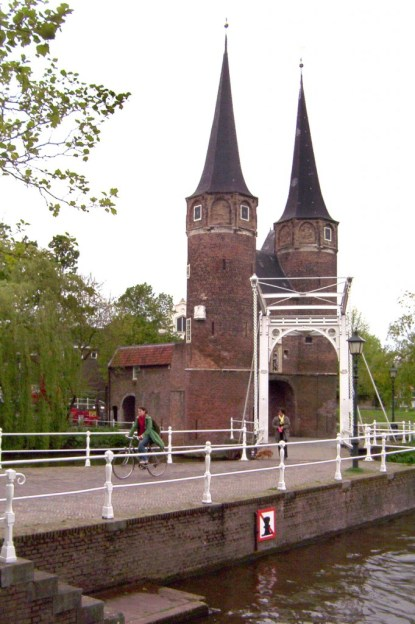 east gate in delft - netherlands