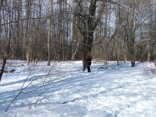jean in forest - lynde shores conservation area - whitby 14