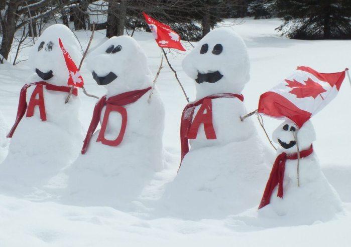 olympic snowmen - huntsville ontario 3