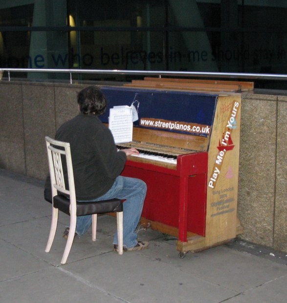Play Me I'm Yours Piano in London England