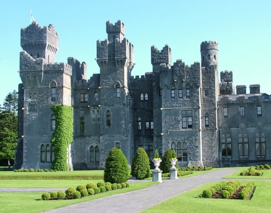 An image of Ashford Castle in County Mayo, Ireland. Photography by Frame To Frame - Bob and Jean.