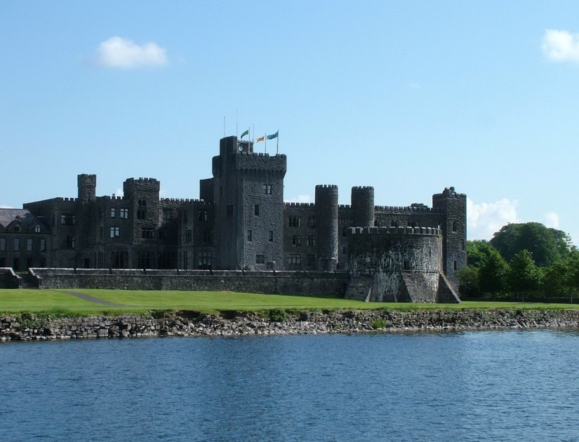 ashford castle viewed from water
