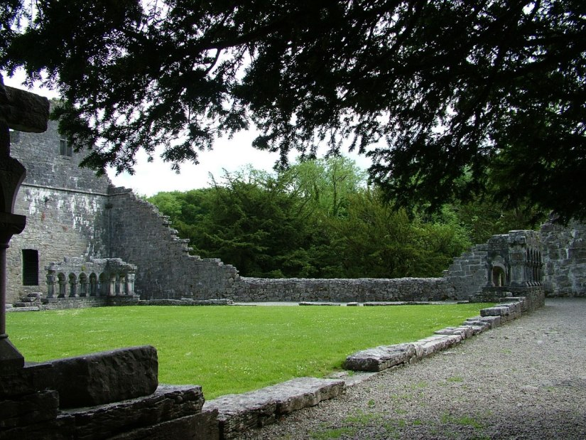 An image of the ruins of the Royal Abbey of Cong in Cong, County Mayo, Ireland. Photography by Frame To Frame - bob and jean.