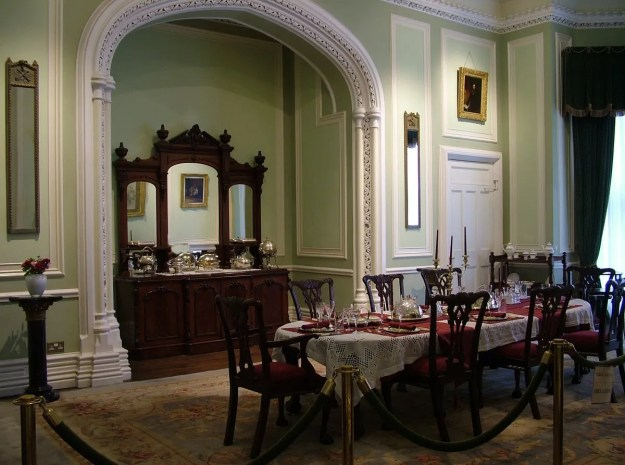 kylemore abbey dinning room_County Galway_Ireland 3