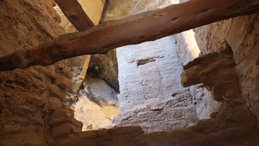 inside the spruce tree house - mesa verde national park - colorado