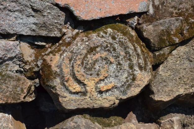 petroglyph at pyramids of san felipe de los alzati, zitacuaro, mexico 1