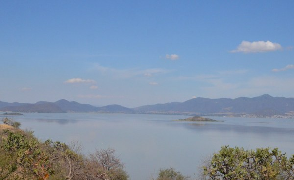 Lago de Cuitzeo, in the Michoacán State, Mexico