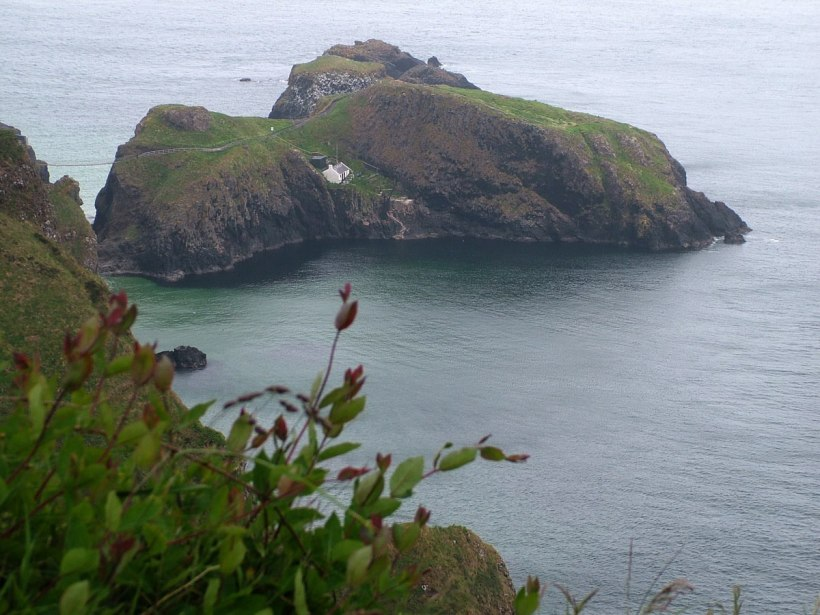 An image of Carrick-a-Rede Island in Northern Ireland. Photography by Frame To Frame - Bob and Jean.