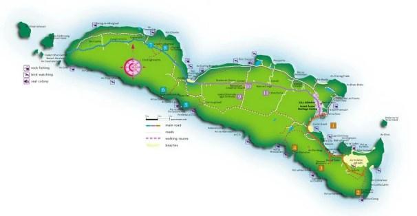 map of inishmore island