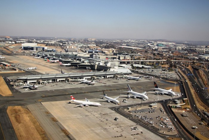 O. r. tambo international airport, johannesburg, south africa
