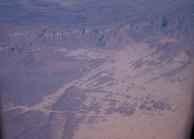 flight over sahara desert, africa 2