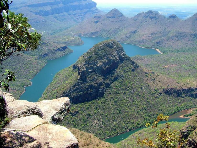 Blyde River in Mpumalanga, Drakensberg escarpment, South Africa