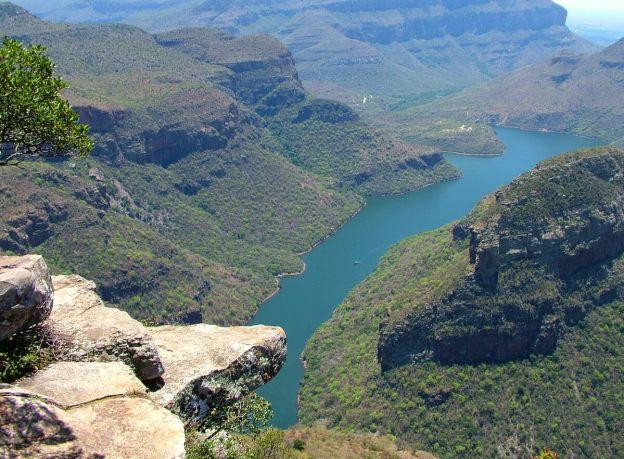 Blyde River Canyon in Mpumalanga, Drakensberg escarpment, South Africa