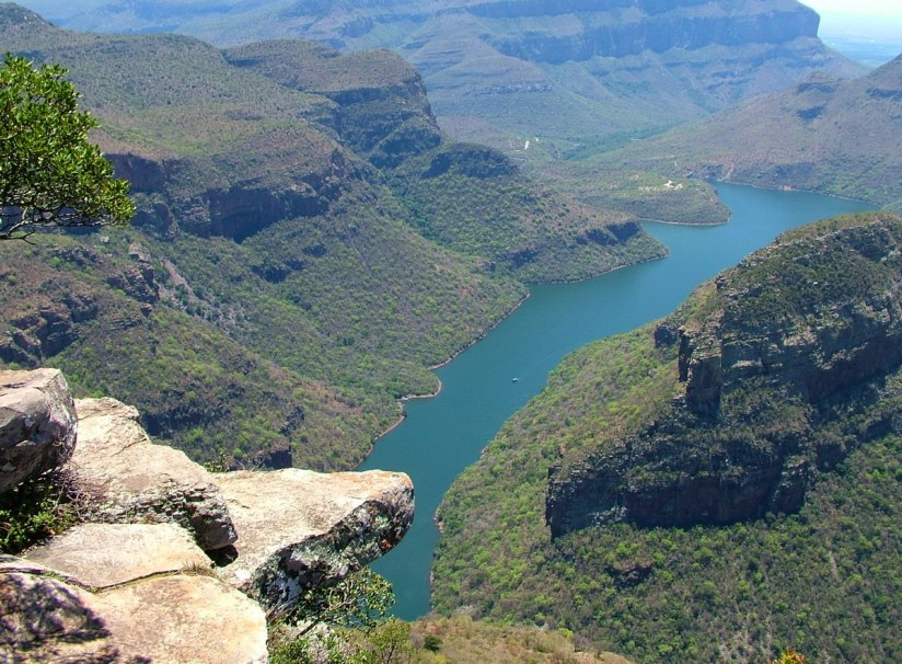 Blyde River Canyon in Mpumalanga, Drakensberg escarpment, South Africa
