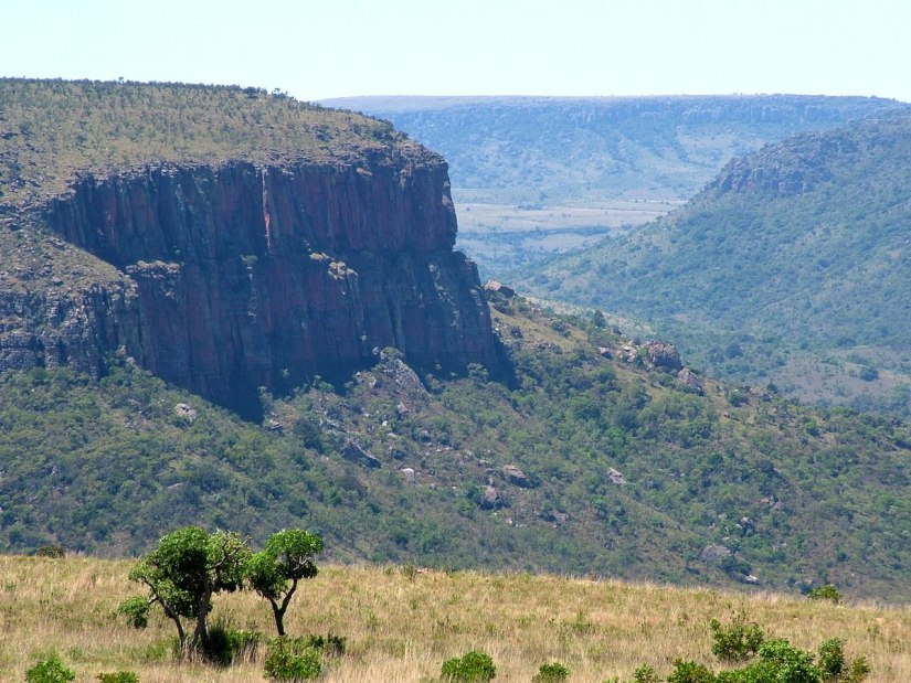 Drakensberg Escarpment in Mpumalanga, South Africa