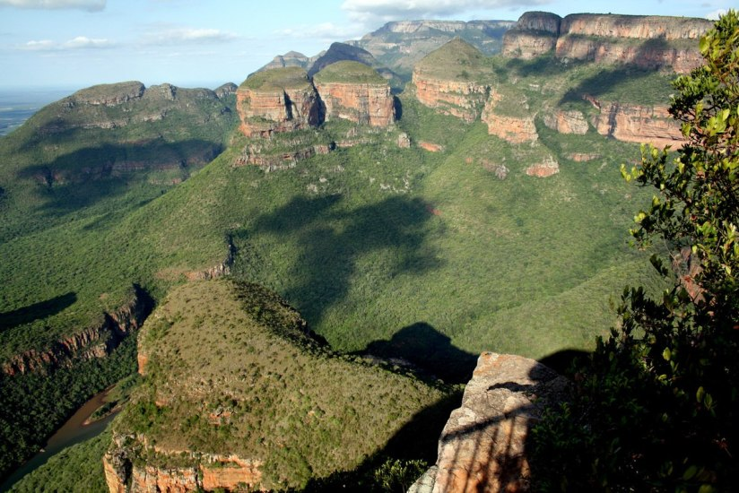 The Three Rondavels in the Blyde River Canyon in Mpumalanga, South Africa