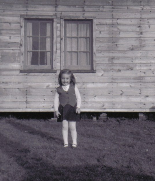 Jean age 3 at oxtongue lake