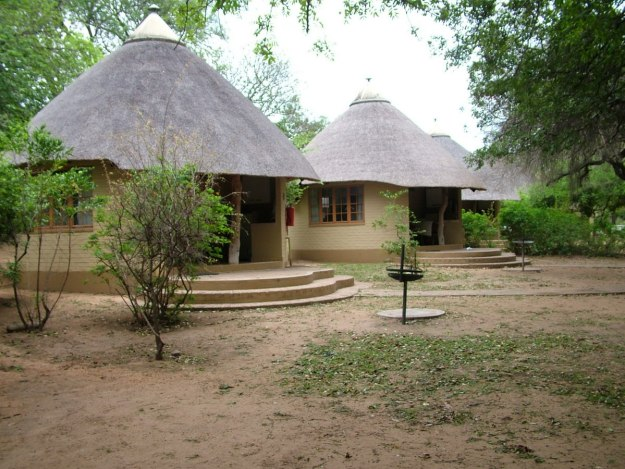 Bungalows at Skukuza Rest Camp at Kruger National Park, in South Africa