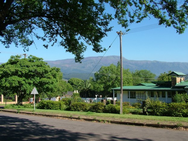 street scene, sabie, south africa, pic 7