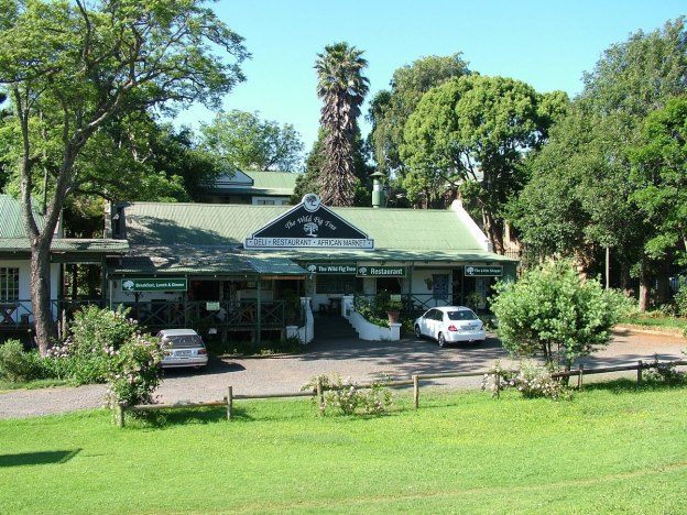 the wild fig tree restaurant, sabie, south africa