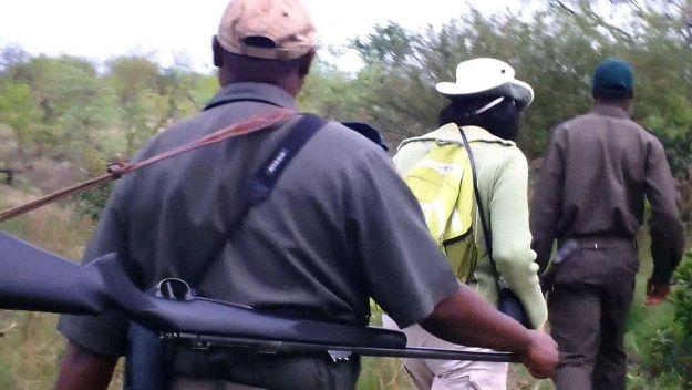 armed safari, kruger national park, south africa, pic 1